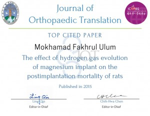Mokhamad Fakhrul Ulum - Top Cited Paper